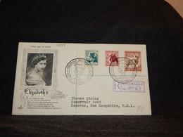 South Africa 1954 Skukuza Registered Cover To USA__(2397) - Briefe U. Dokumente