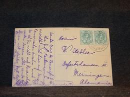 Spain 1910's Postcard To Germany__(1700) - Cartas