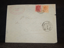 Spain 1924 Montijo Cover To Denmark__(2193) - Cartas