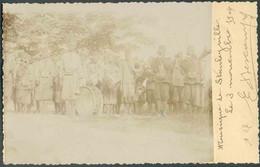 E.P. Carte N°15 - 15 CentimesPALMIER- PHOTO Au Verso (Fanfare De MUSICIENS) Obl. Sc Bleue DeSTANLEYVILLE 2 NOVE. 1904 - Enteros Postales