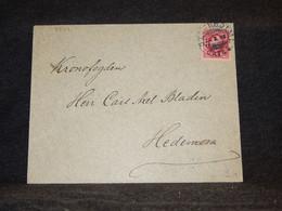 Sweden 1890's Stockholm Cover To Hedemora__(3544) - Briefe U. Dokumente