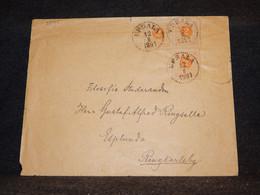 Sweden 1891 Upsala Cover To Ringkarleby__(3575) - Briefe U. Dokumente