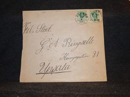 Sweden 1891 Örebro Cover To Upsala__(3573) - Briefe U. Dokumente