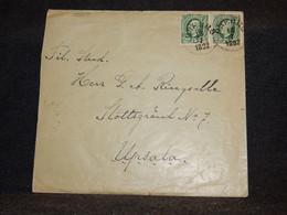 Sweden 1892 Cover To Upsala__(3569) - Briefe U. Dokumente