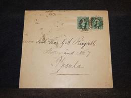 Sweden 1893 Cover To Upsala__(3555) - Briefe U. Dokumente