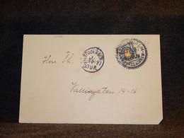 Sweden 1895 Stockholm Card__(3486) - Briefe U. Dokumente