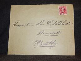 Sweden 1897 10ö Red Stamp Cover__(3524) - Briefe U. Dokumente