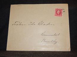 Sweden 1898 10ö Stamp Cover__(3527) - Briefe U. Dokumente
