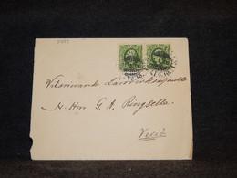 Sweden 1900 Cover To Vexiö__(3489) - Briefe U. Dokumente