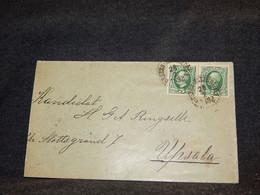 Sweden 1902 Cover To Upsala__(3584) - Briefe U. Dokumente