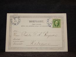 Sweden 1902 Falkenberg Postcard__(3497) - Briefe U. Dokumente