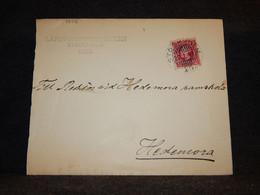 Sweden 1902 Stockholm Cover To Hedemora__(3556) - Briefe U. Dokumente