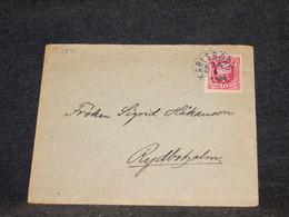 Sweden 1906 Karlsborg Cover__(1541) - Briefe U. Dokumente