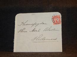 Sweden 1912 Letter To Hedemora__(3561) - Briefe U. Dokumente