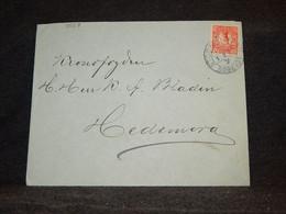 Sweden 1915 Stockholm Cover To Hedemora__(3558) - Briefe U. Dokumente