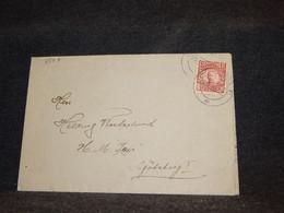 Sweden 1918 Cover To Göteborg__(3567) - Briefe U. Dokumente