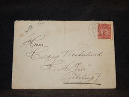 Sweden 1918 Cover__(3495) - Briefe U. Dokumente