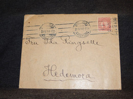 Sweden 1918 Stockholm Cover__(3526) - Briefe U. Dokumente