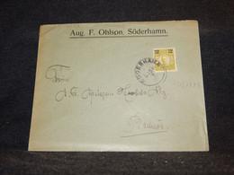 Sweden 1918 Söderhamm Cover__(4072) - Briefe U. Dokumente