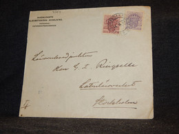 Sweden 1918 Vetenkapsakademien To Stockholm__(3564) - Briefe U. Dokumente