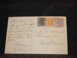 Sweden 1919 Luleå Postcard To Karlskrona__(3566) - Briefe U. Dokumente