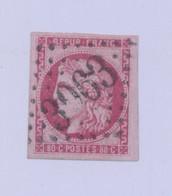 FRANCE - 1871 - N° YT 49 - Oblitéré - Très Léger Clair - Cote 320E - 1871-1875 Ceres