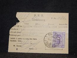 Turkey 1932 Istanbul Old Document With Stamp__(2515) - Briefe U. Dokumente