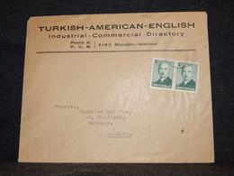 Turkey 1940's Business Cover To Germany__(391) - Briefe U. Dokumente
