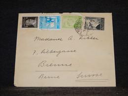 Turkey 1943 Cover To Switzerland__(1440) - Briefe U. Dokumente