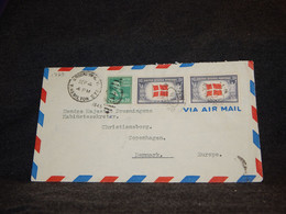 USA 1945 Brooklyn Air Mail Cover To Denmark__(1729) - 2c. 1941-1960 Covers