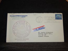 USA 1967 U.S.NAvy Air Mail Cover To Belgium__(2115) - 3c. 1961-... Cartas