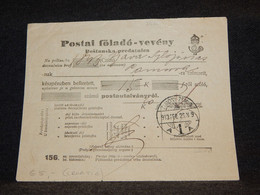Yugoslavia 1913 Zimony Cancellation Document__(2826) - Briefe U. Dokumente