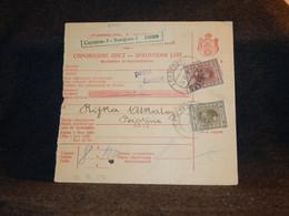 Yugoslavia 1928 Sarajevo Parcel Card__(2793) - Briefe U. Dokumente