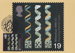 Decoding DNA Cambridge First Day Cover Science Biology Postcard - Unclassified
