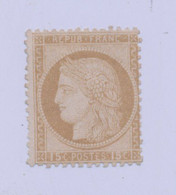 FRANCE - 1871 - N° YT 55 - Neuf * Sans Gomme - Cote 180E - 1871-1875 Ceres