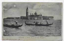 (RECTO / VERSO) VENEZIA - N° 107 - ISOLA DI S. GIORGIO MAGGIORE - BEAU TIMBRE ET CACHET - CPA PRECURSEUR - Venezia (Venice)
