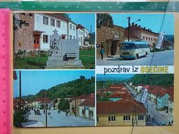 KOV 145-4 - OSECINA, SERBIA, BUS, AUTOBUS, MONUMENT - Serbia