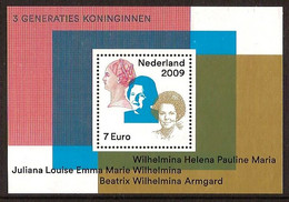 Nederland 2009 NVPH Nr 2642 Postfris/MNH Drie Generaties Koninginnen, Three Generations Of Dutch Queens - Unused Stamps