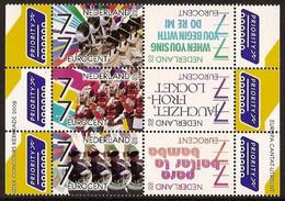 Nederland 2009 NVPH Nr 2652/2657 Postfris/MNH Muziek In Nederland, Music, Musique - Unused Stamps