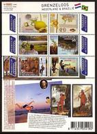 Nederland 2009 NVPH Nr 2658/2663aV Postfris/MNH Grenzeloos Nederland-Brazilie, Netherlands-Brazil, Brasil - Unused Stamps
