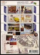 Nederland 2009 NVPH Nr 2658/2663bV Postfris/MNH Grenzeloos Nederland-Brazilie, Netherlands-Brazil, Brasil - Unused Stamps