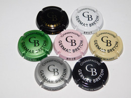 Série De 7 Capsules De Champagne  - GERMAR BRETON  N°A1 - Collections