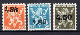 724DD/724FF MNH** 1946 - Heraldieke Leeuw Belgique - België - 1946 -10%