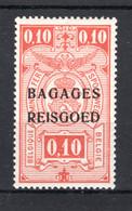 """BA1 MNH** 1935 - Spoorwegzegels Met Opdruk """"BAGAGES - REISGOED"""" - Luggage"""