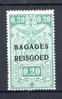"""BA2 MNH** 1935 - Spoorwegzegels Met Opdruk """"BAGAGES - REISGOED"""" - Luggage"""