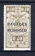 """BA4 MNH** 1935 - Spoorwegzegels Met Opdruk """"BAGAGES - REISGOED"""" - Luggage"""