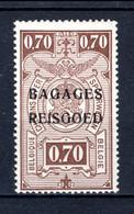 """BA7 MNH** 1935 - Spoorwegzegels Met Opdruk """"BAGAGES - REISGOED"""" - Luggage"""