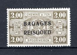 """BA11 MH* 1935 - Spoorwegzegels Met Opdruk """"BAGAGES - REISGOED"""" - Luggage"""