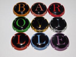 Série De 9 Capsules De Champagne  - BAROVILLE  N°A1 - Collections