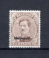 OC63A MNH** TYPE II  1920 - Postzegels Met Opdruk Malmedy - [OC55/105] Eupen/Malmedy
